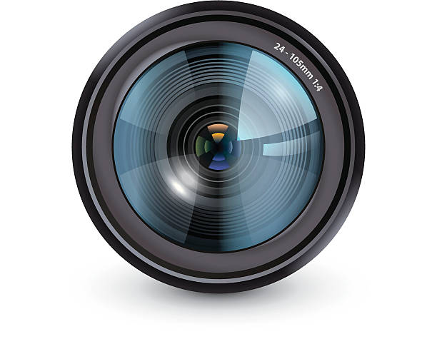 Lens Optical Instrument Clip Art, Vector Images & Illustrations.