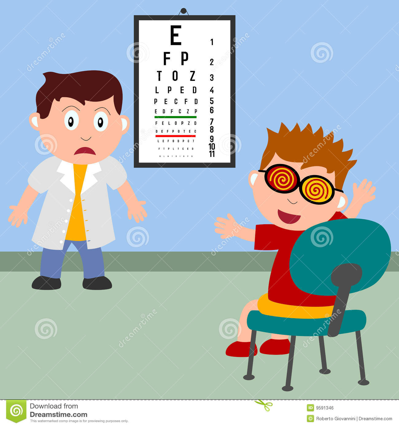 Optician Stock Illustrations.