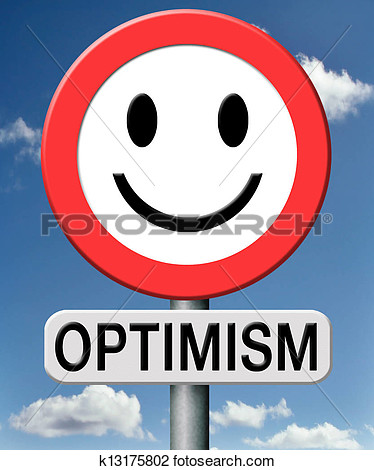 Optimistic person clipart.