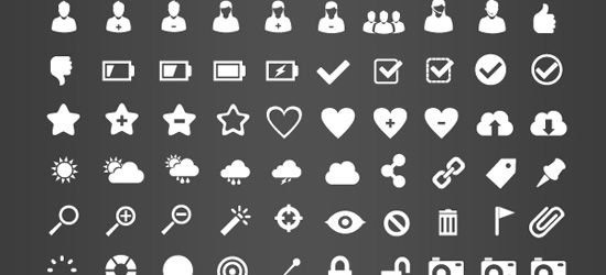 This free icon pack contains 375 icons that are already.