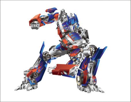 Optimus Prime, free vector.