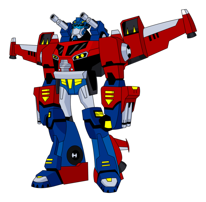Optimus Prime Transformer Clip Art.