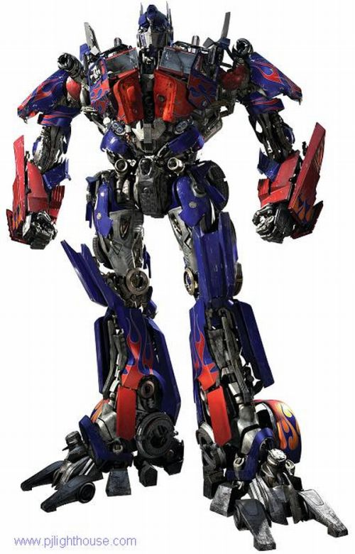 Optimus prime clipart.