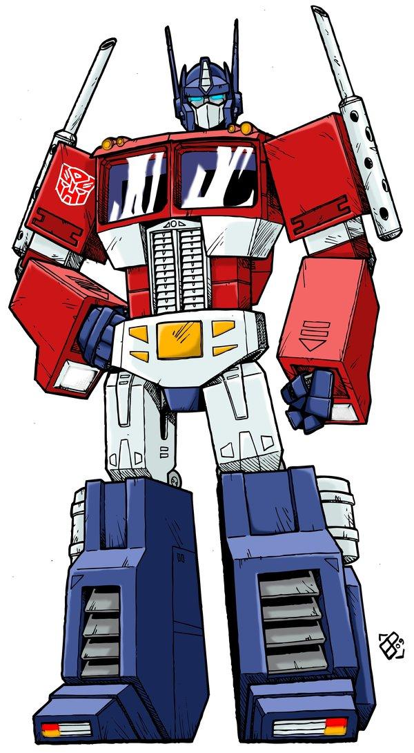 Clip Art Transformers Optimus Prime Artwork.