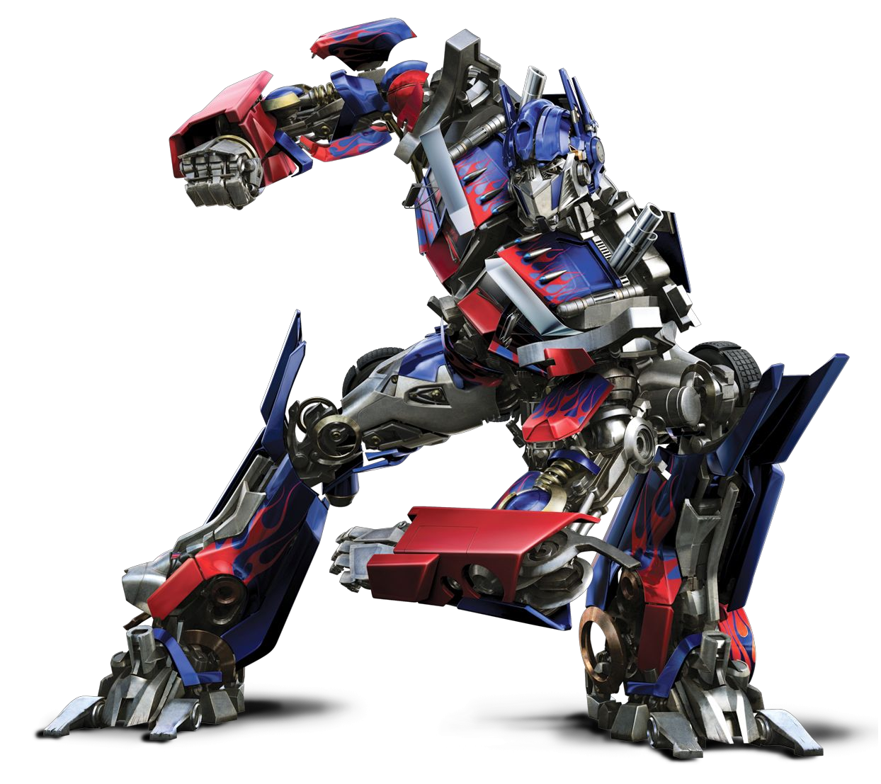 Download Optimus Prime PNG Transparent Image.
