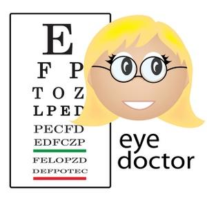 Eye Doctor Clipart.