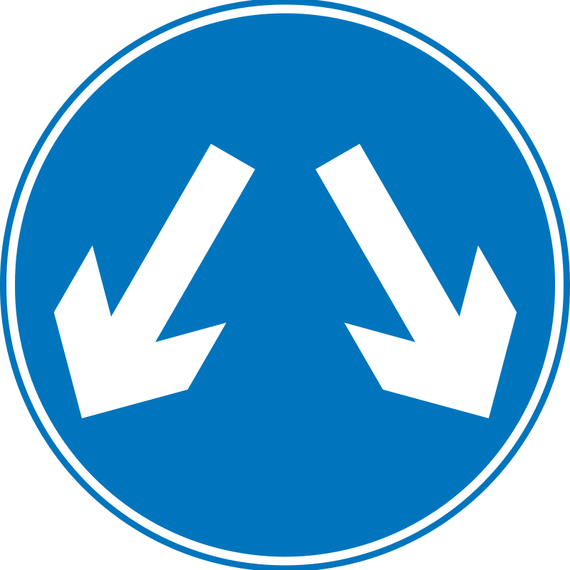 Free Clipart: Figure 8 Maze.