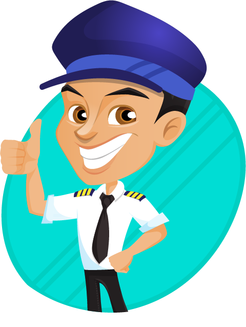 Free to Use & Public Domain Pilot Clip Art.