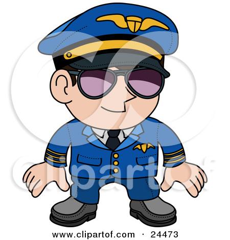 Pilot Clip Art.