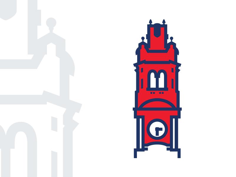 Oradea Cityhall Tower by Emanuel Vede.