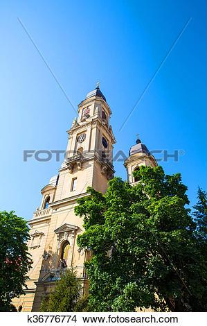 Stock Photo of Roman Church in Oradea k36776774.