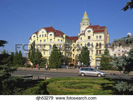 Stock Photograph of Romania, Crisana Region, Bihor County, Oradea.