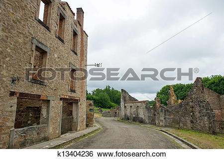 Stock Images of Oradour sur Glane k13404236.