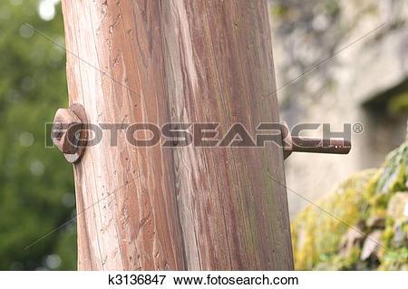 Picture of oradour sur glane electricity pole bolt k3136847.
