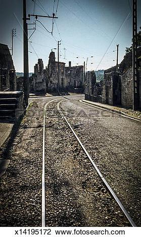 Stock Photo of Oradour.