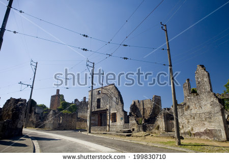 Oradour Sur Glane Stock Photos, Royalty.