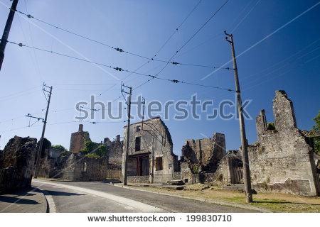 Oradour Sur Glane Stock Photos, Royalty.