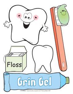 Dental Health Month February.