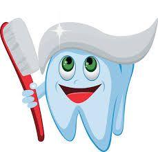 Happy Tooth Clip Art.