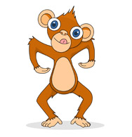 Free Orangutan Clipart.