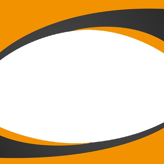 HD Swoop Vector Orange Wave.