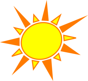 Yellow And Orange Sun Clip Art at Clker.com.