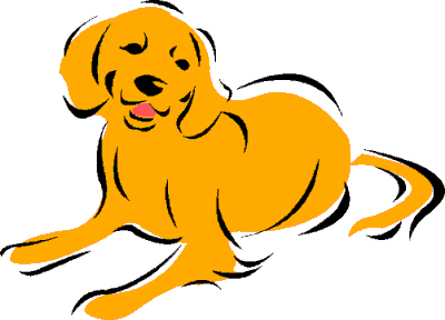 Yellow and orange clipart.