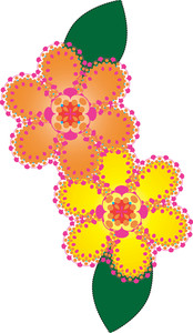 Floral Clipart Image.