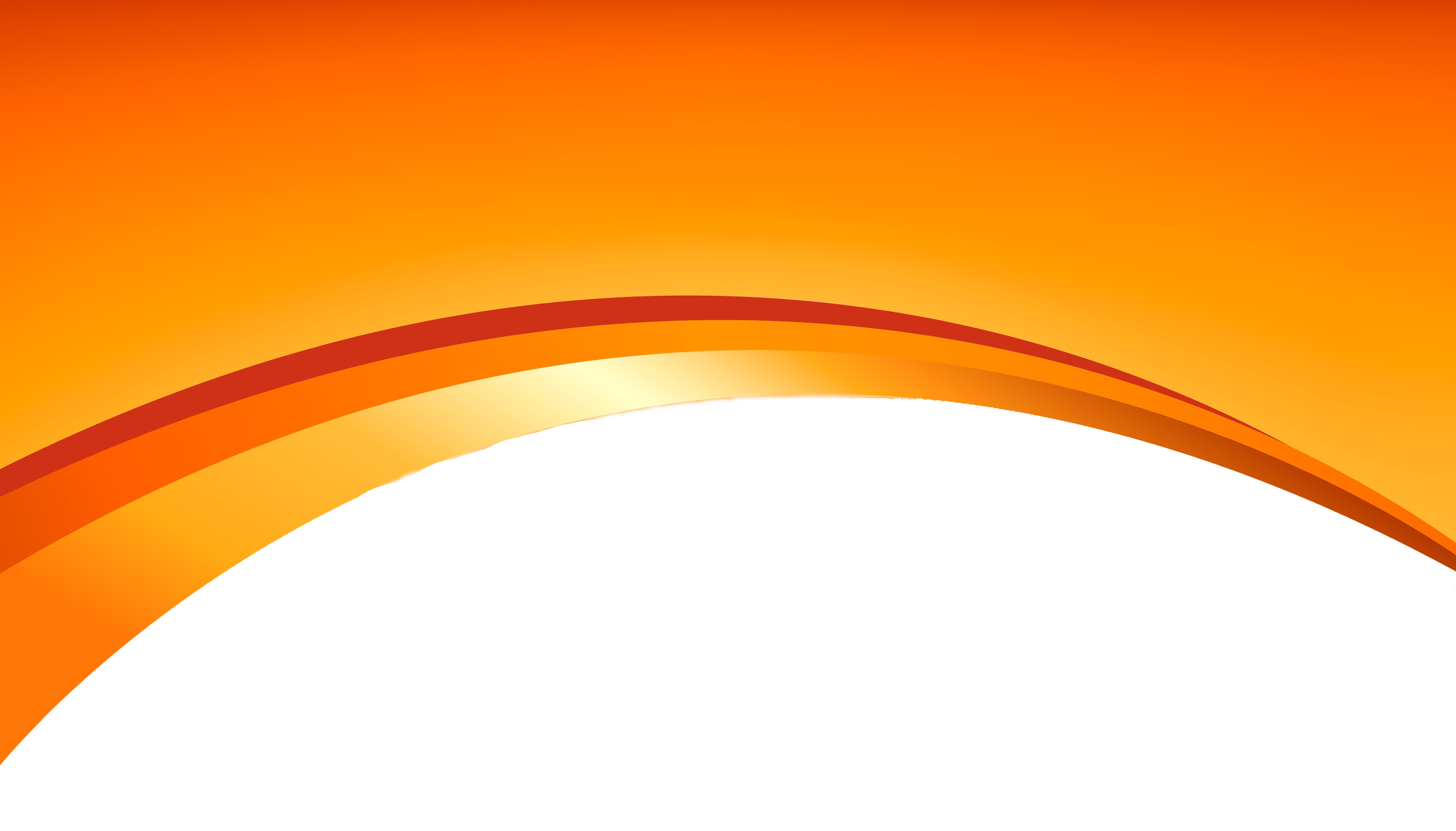 Orange Abstract Lines Transparent Background PNG.