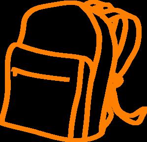 Bag Pac Orange Clip Art at Clker.com.
