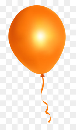 Balloon Orange PNG and Balloon Orange Transparent Clipart.