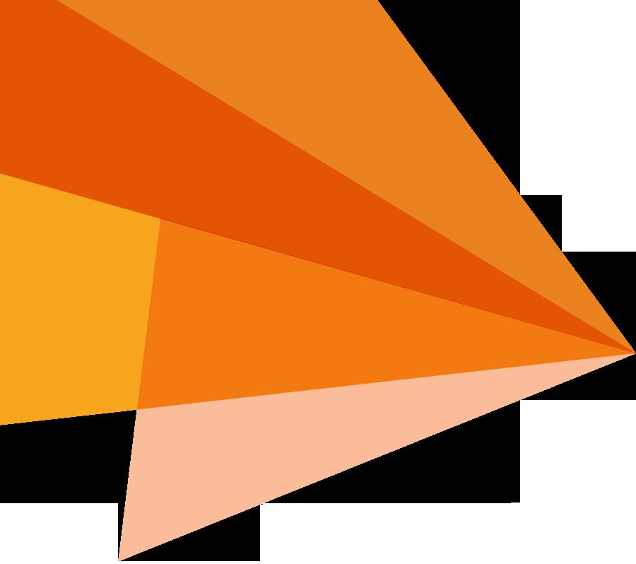 Orange Banner Png.