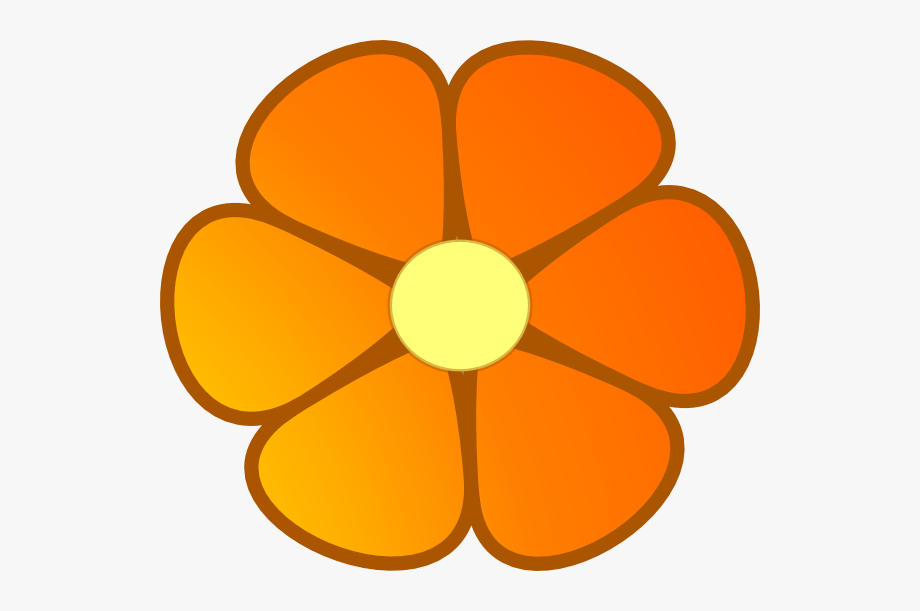 Orange Blossom Clip Art.