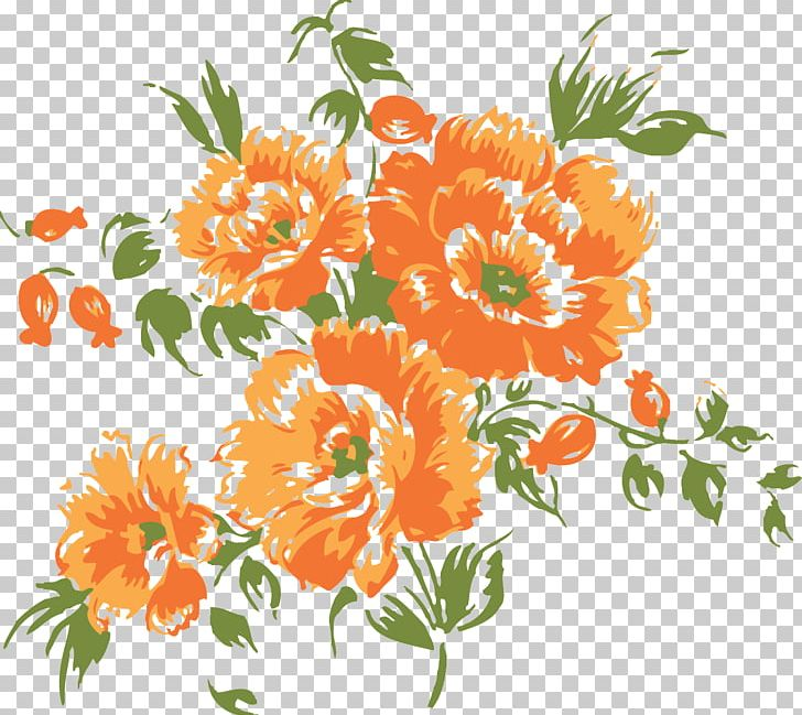 Flower Orange Blossom PNG, Clipart, Annual Plant, Art.