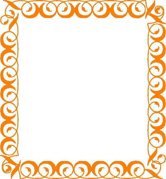 Orange Border Clip Art at Clker.com.