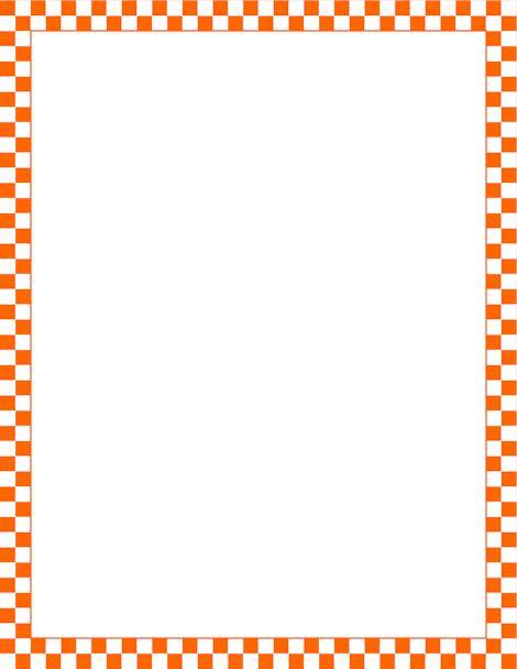 37+ Orange Borders Clip Art.