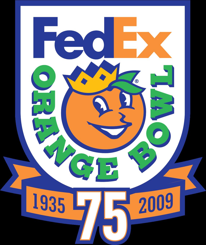 Download Fedex Orange Bowl Logo PNG Image with No Background.