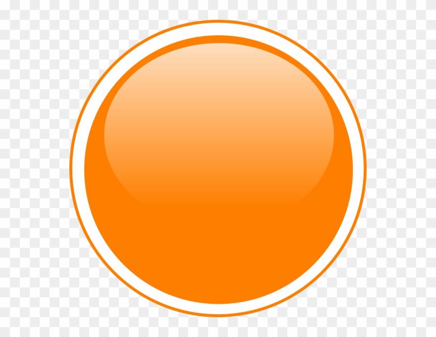 Orange Round Button Png Clipart (#782330).