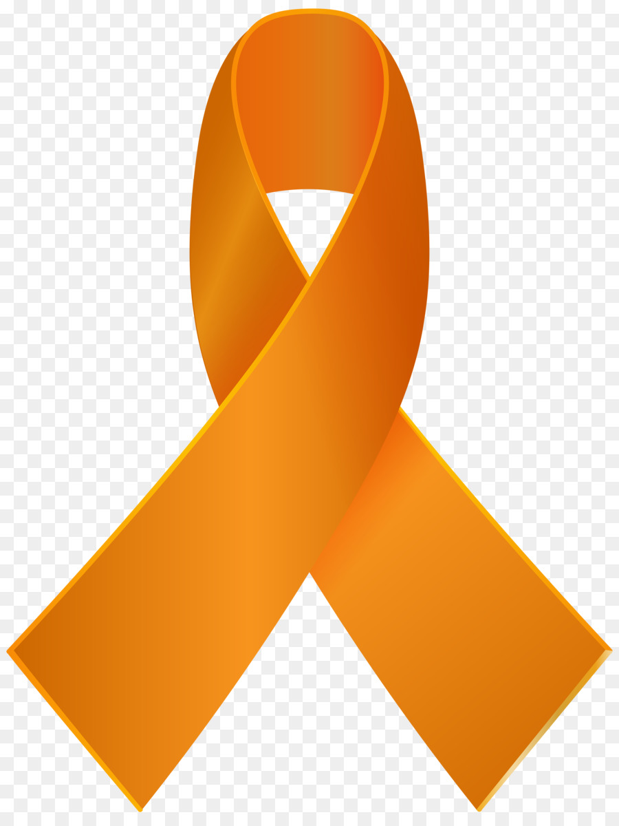 Dazzling Orange Cancer Ribbon Clip Art Inspiring Clipart 3.
