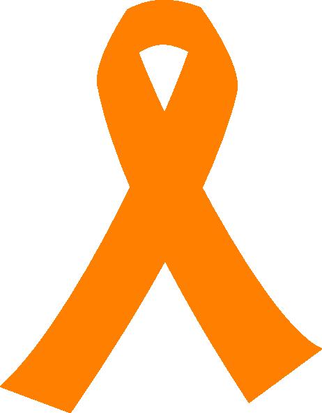 Orange Cancer Ribbon Clip Art at Clker.com.