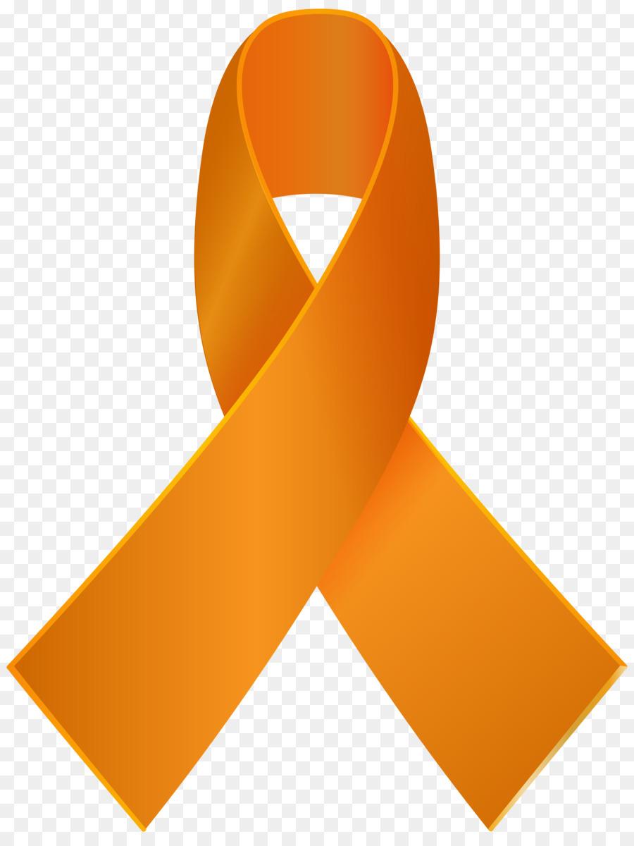 Orange Ribbon clipart.
