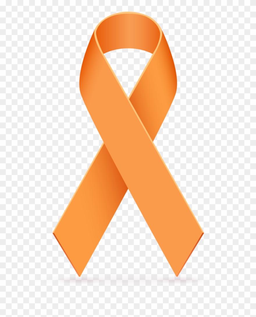 Orange Cancer Ribbon Clipart 3 By April.