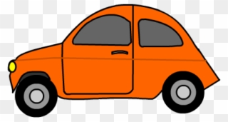 Free PNG Orange Car Clipart Clip Art Download.