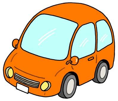 Orange car clipart » Clipart Station.