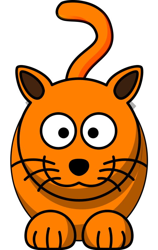 Free Orange Cat Clipart, Download Free Clip Art, Free Clip.