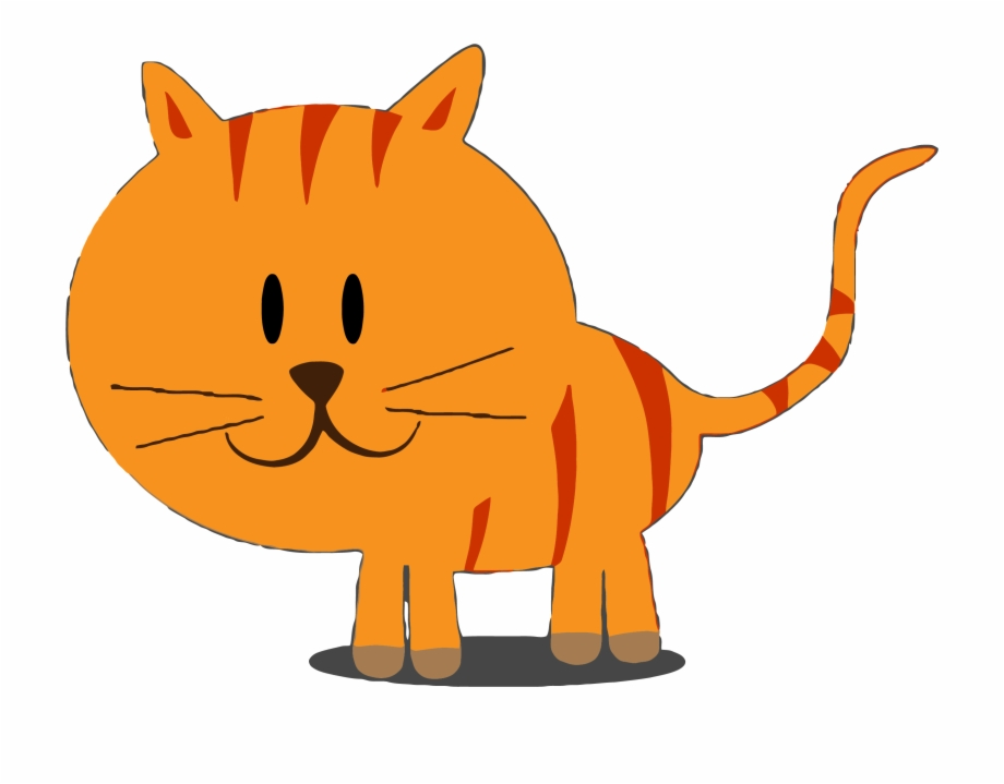 Happy Kitty Cat Clipart Png.