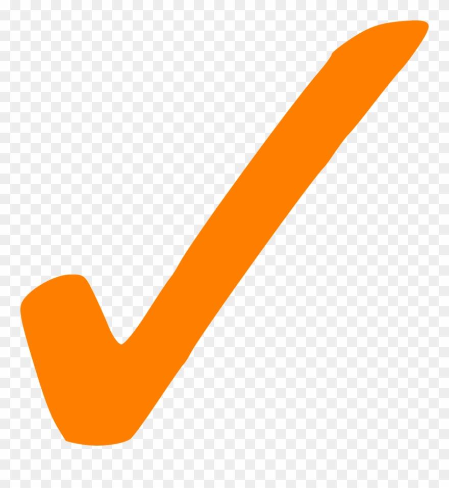 Check, Correct, Tick, Sign, Mark, Orange.