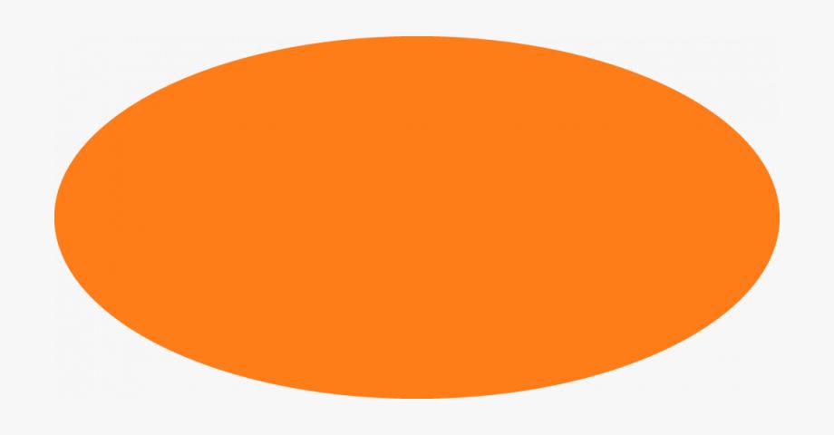Orange Oval Clipart.