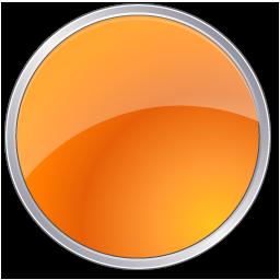 Orange circle icon #16070.