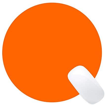 Wknoon Single Circular Blank Mouse Pad.